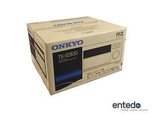 Onkyo-TX-RZ830-9-2-Heimkino-AV-Receiver-Verstaerker-THX-HDCP-2-2-Atmos-Schwarz