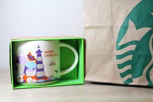 Starbucks-You-Are-Here-Mug-North-Carolina-YAH-Brand-New-Starbucks-Mugs
