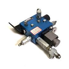 Fluid Power Sales 241214aa Hydraulic Control Manifold Withemergency Lower Valve