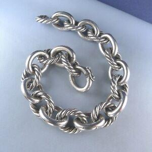 "925 Sterling Silver Real Diamond Arrowhead Design Link Bracelet 6 3//4/"" or 7/"""