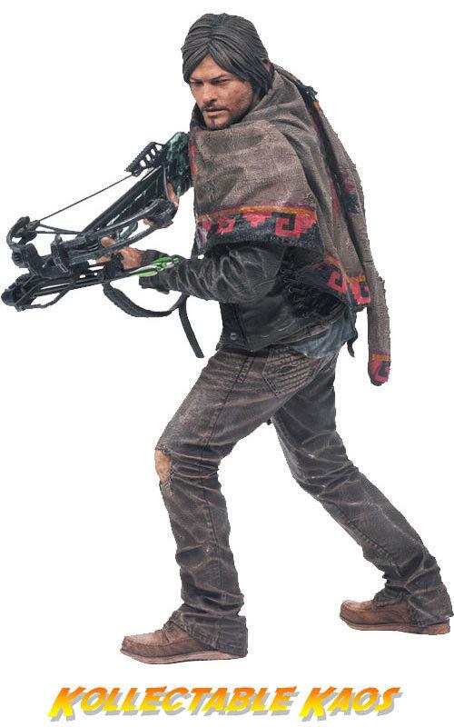 Der zombie - daryl dixon 10  deluxe - action - figur