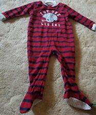 37597d812 Boys Carter's Future Legend Football Fleece Footed Pajamas Sz 3t for ...
