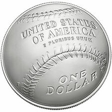2014 P Baseball Hall Of Fame US Mint Unc Silver Dollar Coin W Box/COA IN HAND
