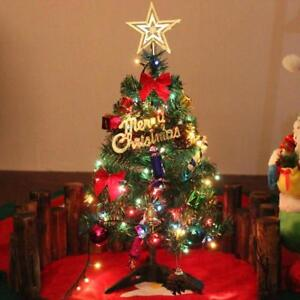 Image Is Loading Tabletop Christmas Tree Lights Small Mini Indoor Pine