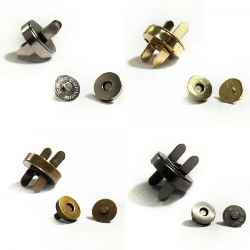 20 Pack 10 18mm Magnetic Fasteners Handbag Purse Metal Clasps  4
