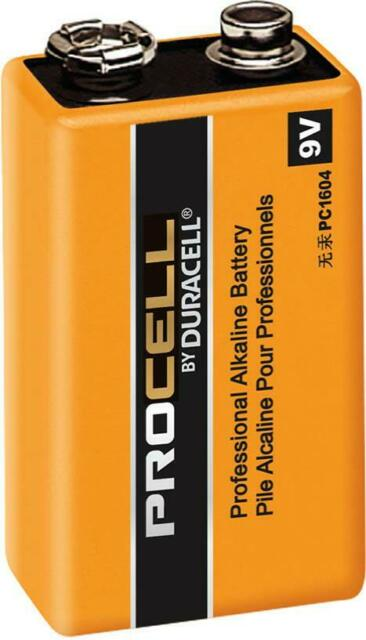 Procell by Duracell 9V Professional Alkaline Battery
