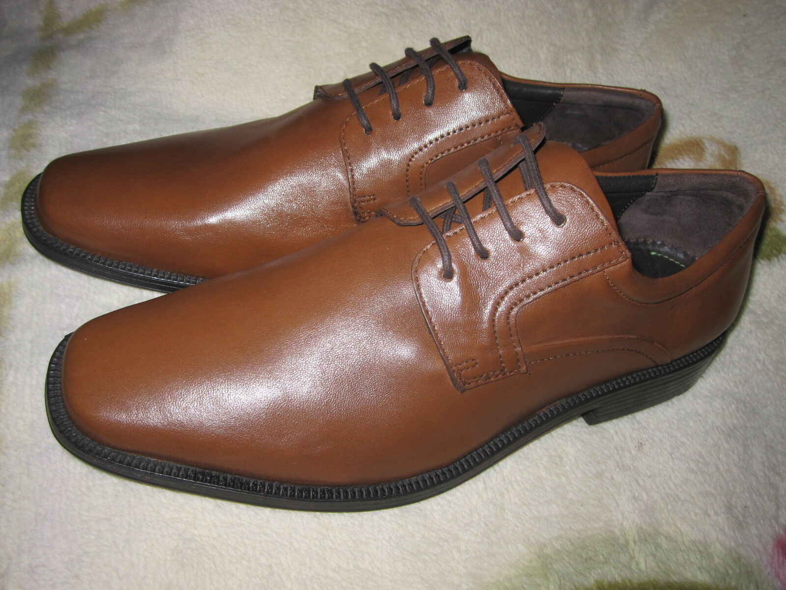 SALAMANDER Herren Schuhe Gr. 43 Braun Leder