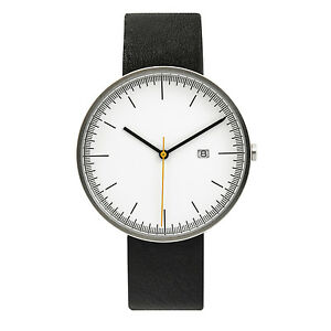 BIJOUONE-Silver-White-Leather-Strap-Casual-Classic-Quartz-luxury-wrist-watch