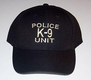 POLICE K-9 UNIT CAP Free Shipping