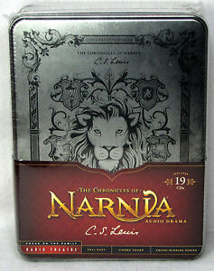 NEW The Chronicles of Narnia 19 CD C S Lewis Focus on the Family Radio Theatre