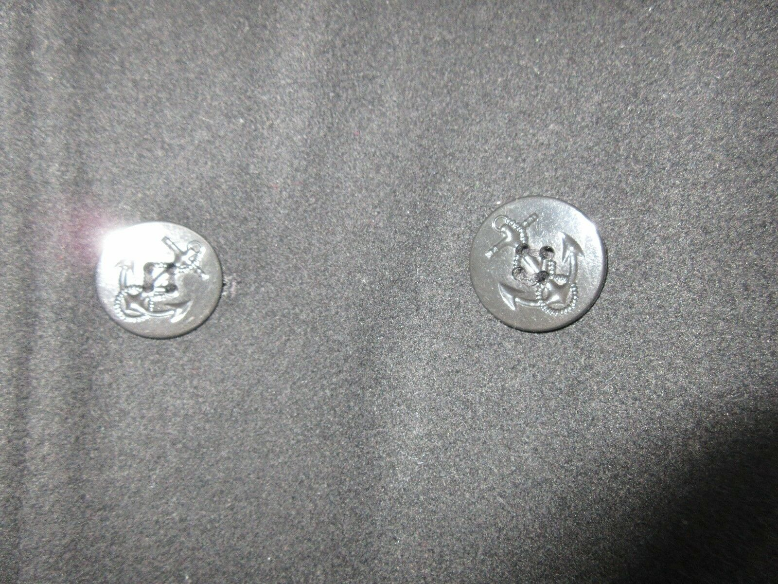 Sonoma Jean Company ,Mens , Black ,Pea Coat , Double Br