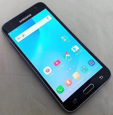 Samsung Galaxy J3 (6) Black 8GB Unlocked Smartphone (SM-J320FN)