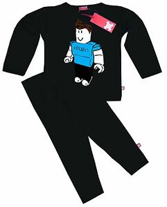Pyjama Roblox Stardust Ethical Kids Childrens Denis Roblox Youtube Gamer Pyjamas Ebay