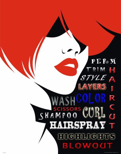 Hair Salon Stylist Motivational Poster Art Print Hairdresser Cape Gift MVP548