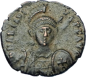 ARCADIUS-with-CROSS-Original-401AD-Antioch-Authentic-Ancient-Roman-Coin-i65831