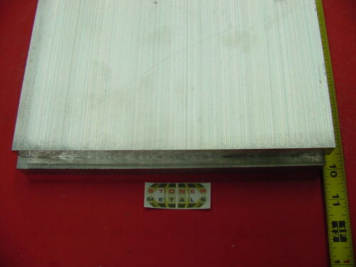 2 Pieces 3/4 X 10 ALUMINUM 6061 FLAT BAR 10 long Solid T6511 Plate Mill Stock