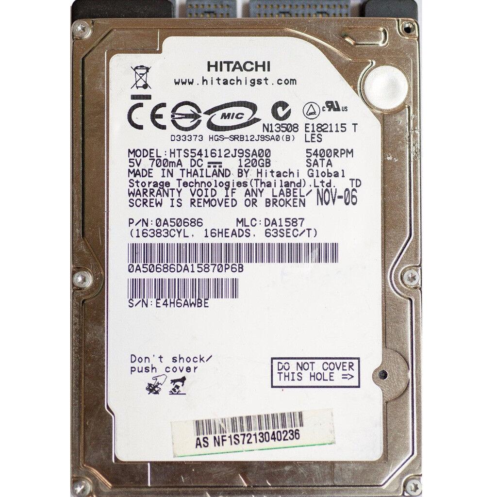 acd4f84c5ff2 Hitachi Travelstar 5K160 HTS541612J9SA00 120GB Internal 5400RPM 2.5