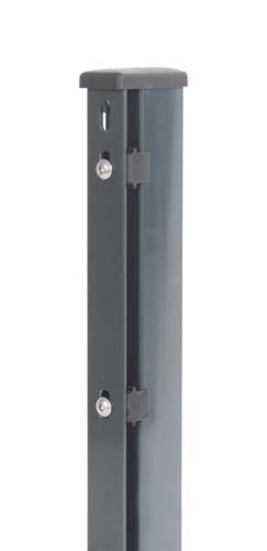 Flacheisen 60x40-1200 für 800mm Zaunhöhe Anthrazit Zaunpfosten m