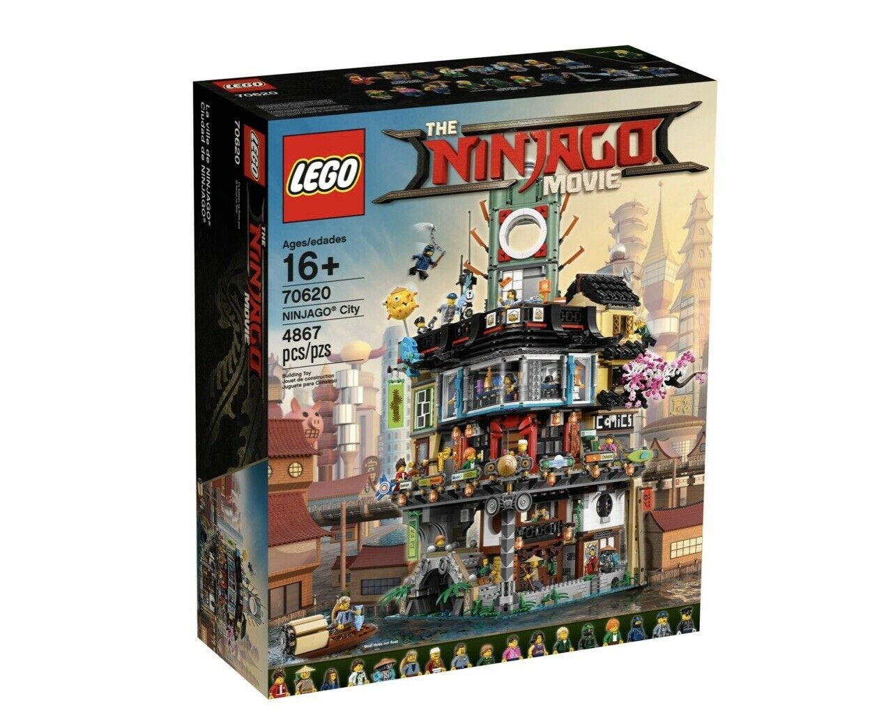 LEGO 70620 NINJAGO CITY NEW