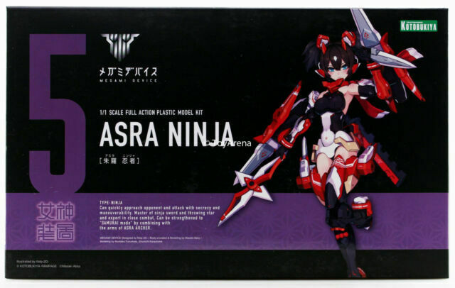 Kotobukiya Megami Device Arsa Ninja Plastic Model Kit KP431