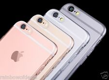 New Slim Transparent Crystal Clear Hard TPU Case Cover For Apple iPhone 6S 4.7""