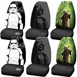 Star Wars Darth Vader Stormtrooper Yoda High Back