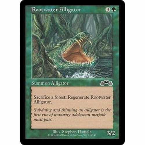 Rootwater Alligator MTG EXODUS