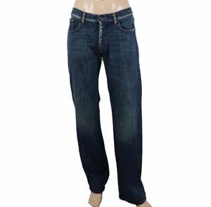 Giorgio-Armani-Jeans-Taglia-45IT-Pantaloni-Jeans-Casuali-Gamba-Dritta-Uomo