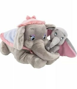 disney parks baby dumbo and mother mrs jumbo storybook circus plush
