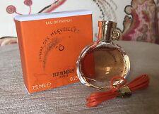 Hermes L'Ambre Des Merveilles EDP 0.25 Oz, 7.5 ml (New In Box)~Travel perfect!