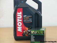 Motul Öl 7100 4T 15W-50 / Ölfilter Aprilia SL750 Shiver / GT auch ABS Bj 07- 16