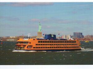 Carte-Postale-de-Staten-Ile-Bac-de-New-York-Ville