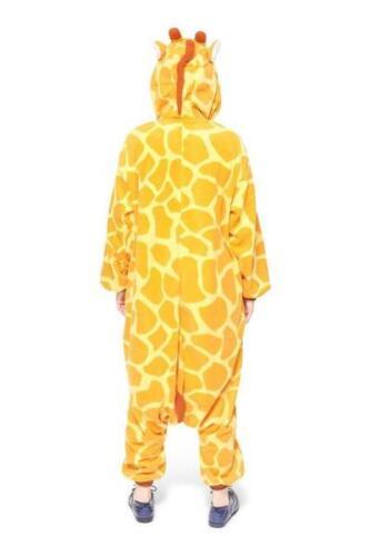UK-Unisex Ladies Fleece Pyjama Pajamas Kigurumi Onsies Adults Animal Costume