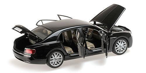 tienda de venta Bentley Flying Flying Flying Spur Kyosho 2013 W12 Diamante Negro 1 18   Nuevo Lanzamiento  compras de moda online