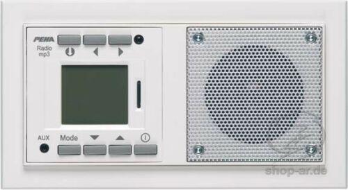 Radio Elektronik Strom Rahmen weiß reinweiß PEHA AudioPoint NOVA 20 022