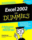 Excel 2002 For Dummies by Greg Harvey (Paperback, 2001)