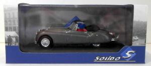 Solido-1-43-Scale-S4302400-1956-Jaguar-XK140-Gris-Metal