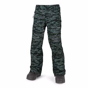 2017-NWOT-BOYS-VOLCOM-DATURA-SNOWBOARD-PANTS-M-camouflage-waterproof