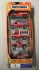 MATCHBOX 5 PACK    MBX METAL   FIRE     k