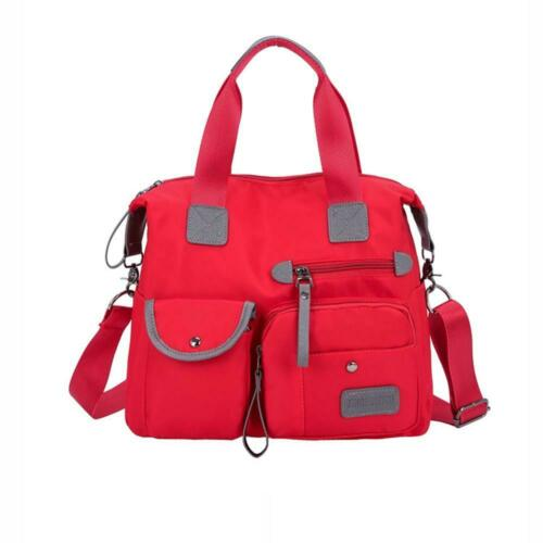 Women Lady Waterproof Nylon Shoulder Messenger Bag Large Capacity Crossbody Bags