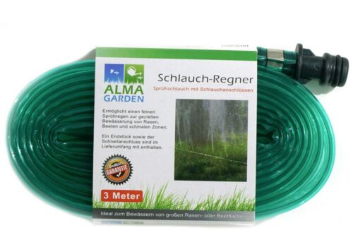 Schlauch Regner Garten Bewässerung Wasserschlauch Bewässerungssystem Tröpfchen
