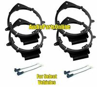 Car Door Speaker Install Kit Combo For Select Gmc Sierra Yukon Acadia Savana