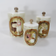 3-Vintage-1978-Sears-Roebuck-Mother-in-the-Kitchen-Ceramic-Canisters-w-Lids thumbnail 1