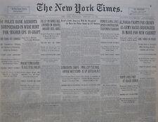 2-1931 FEBRUARY 18 DEMOCRATIC CHIEFS OPPOSE WETS. PROHIBITION. MAWSON ANTARCTIC