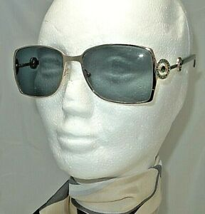 BOUCHERON-SUNGLASSES-BOU-24-S-15G-A2-55-17-135-16-GOLD-WITH-GREEN-LENS