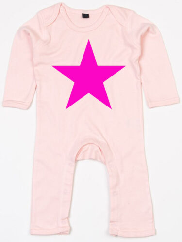 PINK STAR Rompasuit rosa Strampler