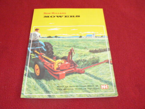 New Holland Model 44 45 46 Mower Dealer/'s Brochure