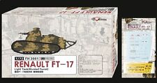 Flyhawk FH3001 1/72 French Ft-17 Light Tank Riveted Turret (1 1 Double Ones)