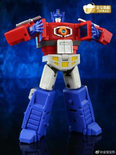 Transformers Optimus Prime Jinbao G1 DX9 DF-04 with trailer Toys in Stock 12cm