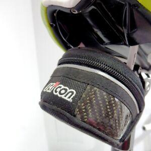 SCICON VORTEX 430 Carbon Black Saddle Bag for Road Cyclists